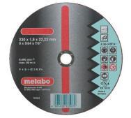 Отрезной круг Metabo Novorapid Inox 125 мм- фото