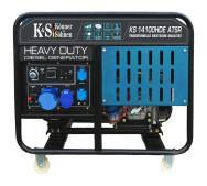 Генератор дизельный Konner&Sohnen KS 14100HDE HD ATSR- фото