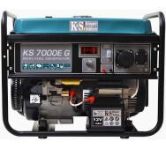 Газобензиновий генератор Konner&Sohnen KS 7000E G- фото