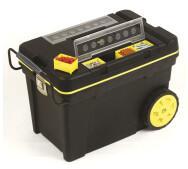 Ящик большого объема с колесами Stanley 1-92-904 Pro Mobile Tool Chest со съемными отделениями в крышке- фото