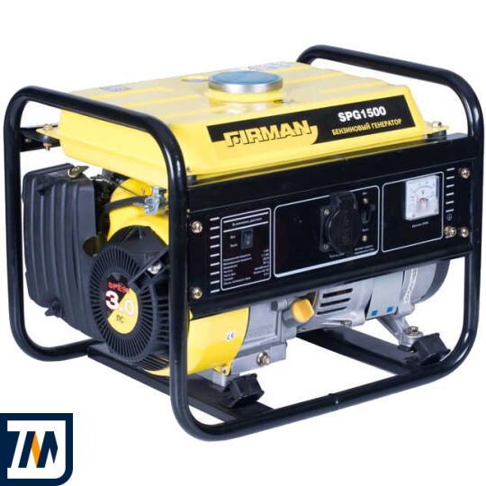 Бензиновый генератор Firman SPG1500 - фото 1