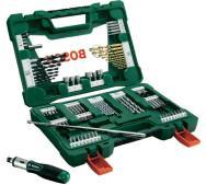 Набір сверл і біт Bosch V-Line 91 шт- фото