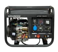 Генератор бензиновий зварювальний Hyundai HYW 190AC- фото