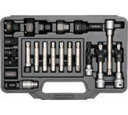 Набір ключів для альтернатора 22пр. Yato YT-04211- фото