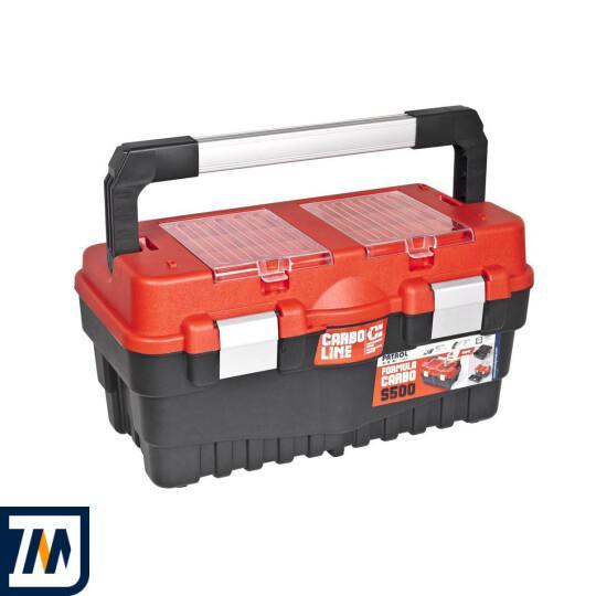 Ящик для инструмента PATROL S500 CARBO RED (24,2x25,6x46,2cm) | интернет-магазин Мотоблок.биз