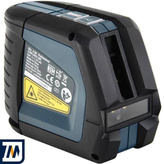 Лазерний нівелір Bosch GLL 2-50 + BM1 + LR2 L-Boxx - фото 5
