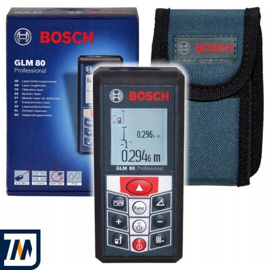 Лазерний далекомір Bosch GLM 80 - фото 1