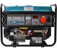 Бензиновый генератор Konner&Sohnen KS 7000E-3- фото