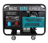 Бензиновый генератор Konner&Sohnen KS 12000E-1/3- фото
