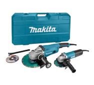 Комплект Makita DK0053 угловых шлифмашин GA9020 и 9558HNR- фото